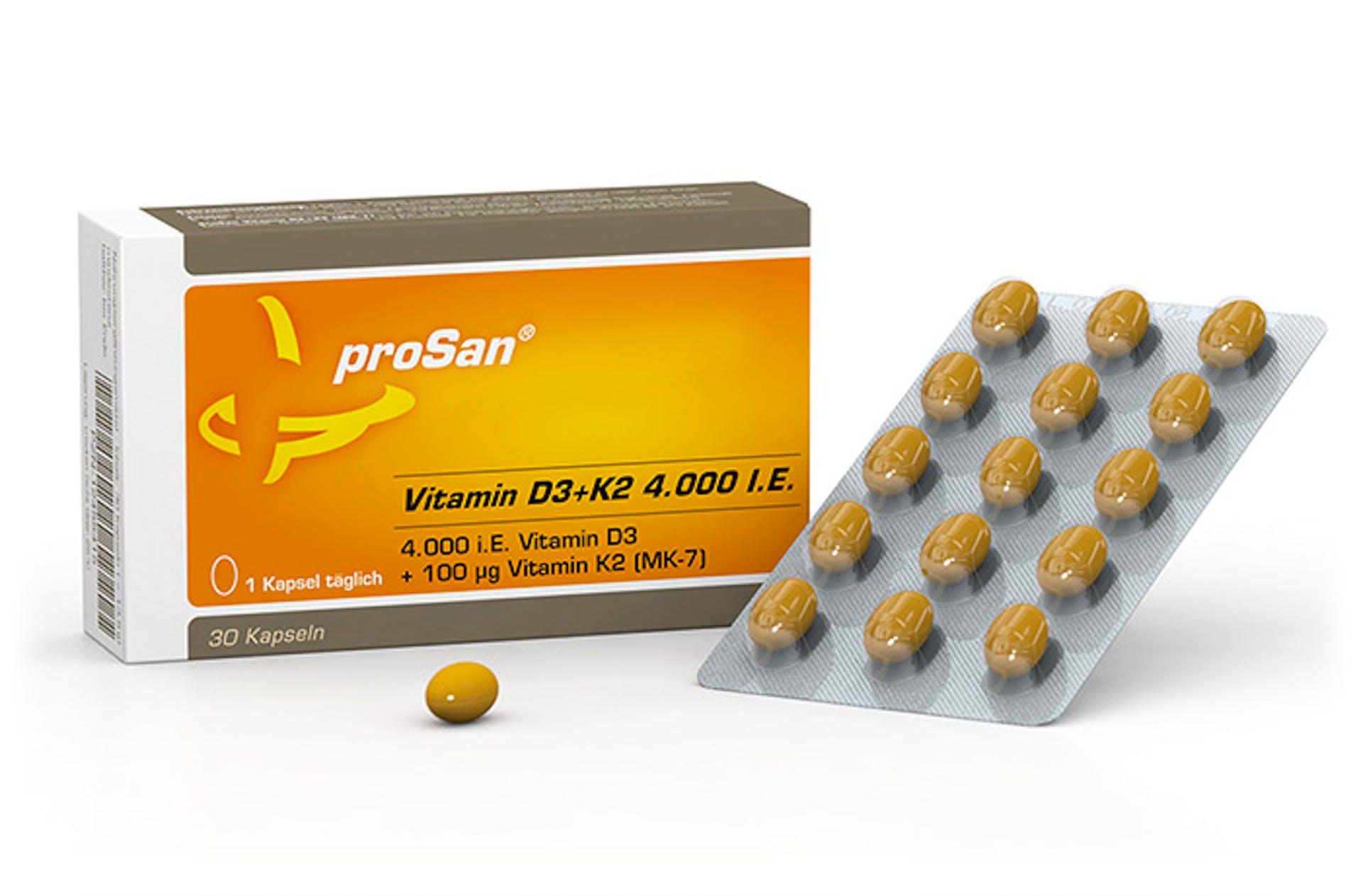 proSan immun vitamin d3+k2 4.000 I.E. kaufen